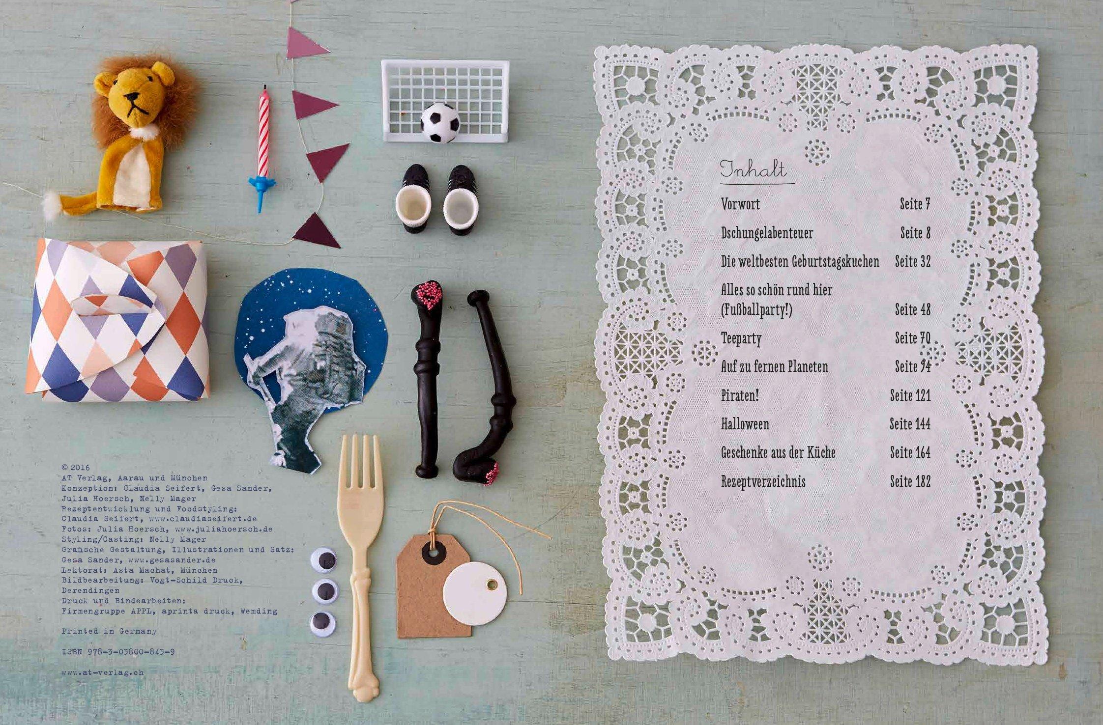 Kinder-Party-Küche: Wir kochen und feiern das ganze Jahr: Amazon.de ...