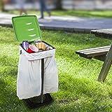 Wakeman Portable Trash Bag Holder- Collapsible
