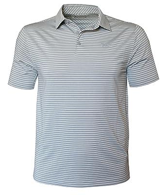 da5f84c178 Under Armour Men's Performance Striped Shirt HeatGear Polo at Amazon ...