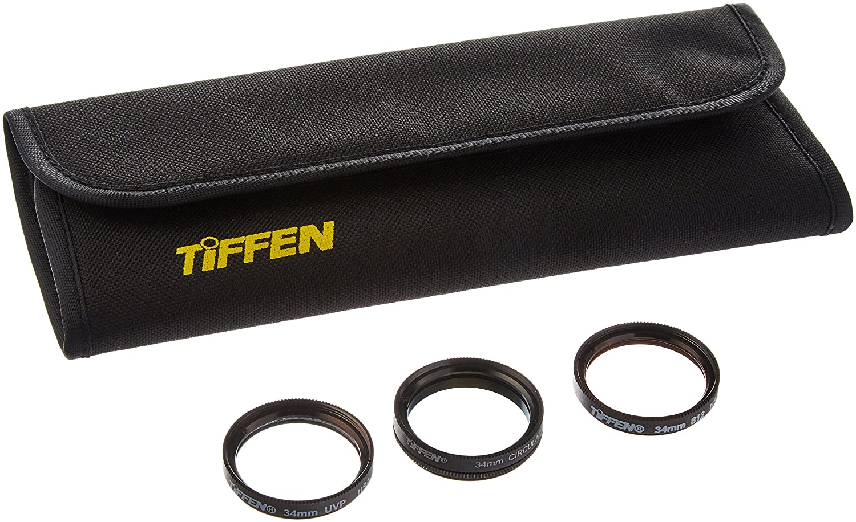 TIFFEN 34UVP 34 mm three piece UV-Protector Kit