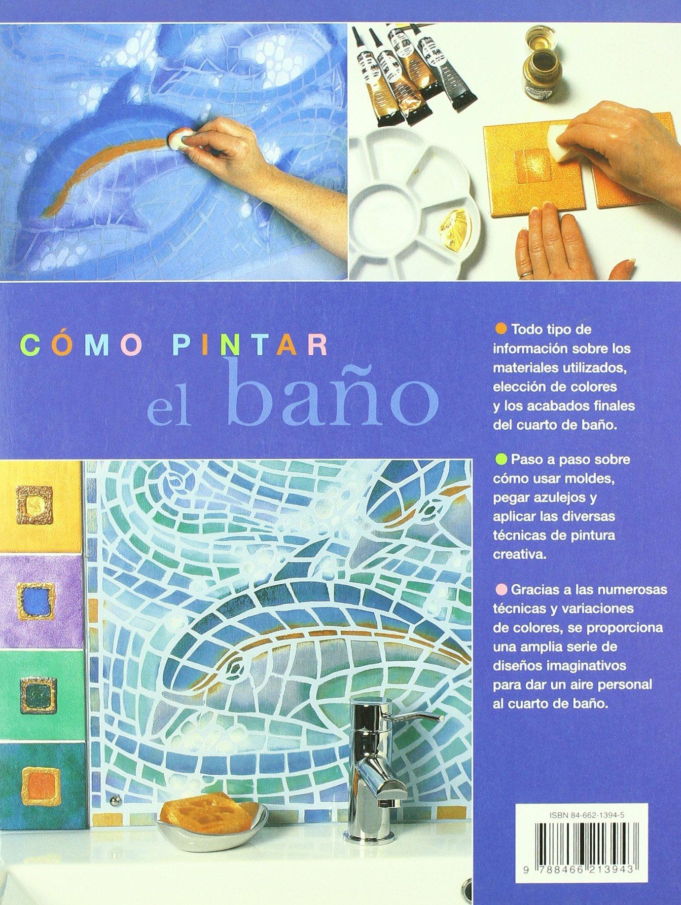 Como pintar el bano/ The Painted Bathroom (Spanish Edition): Henny Donovan: 9788466213943: Amazon.com: Books