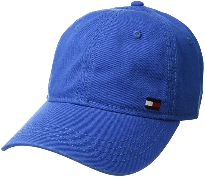 Tommy Hilfiger Hombres Gorra de béisbol - Azul -: Amazon.es: Ropa ...