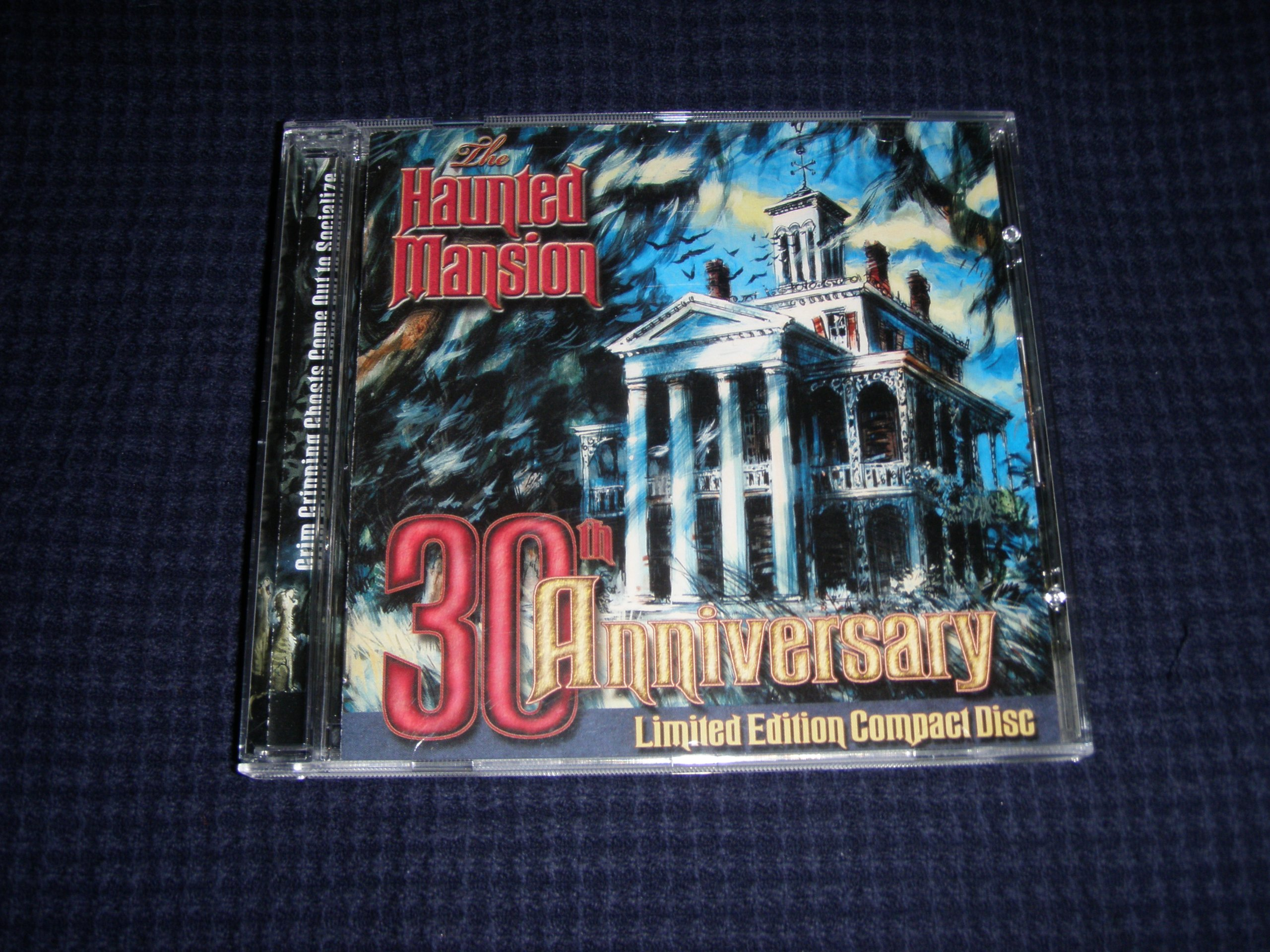 Haunted Mansion 30th Anniversary Limited Edition Compact Disc by