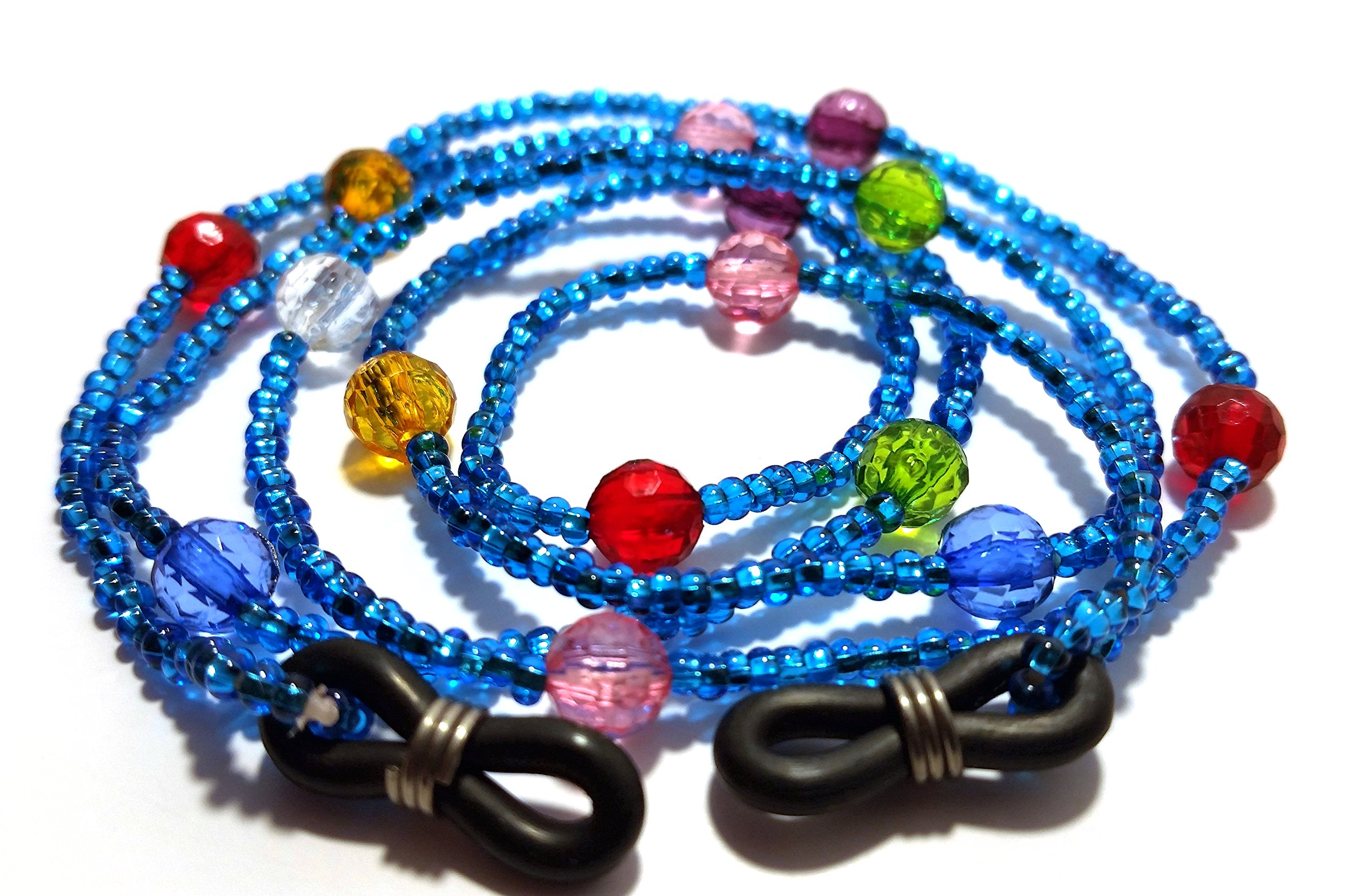 De Suave Studio 54 Eyeglass Cord (Blue)