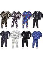 Snoozzzn' Big Boys Base Layer Waffle Thermal Underwear Set - Bonus Pack of 3 Sets