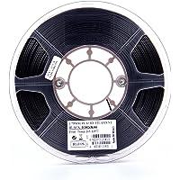 eSUN 1.75mm PLA PRO 3D Printer Filament 0.5KG Spool, 0.5KG Black