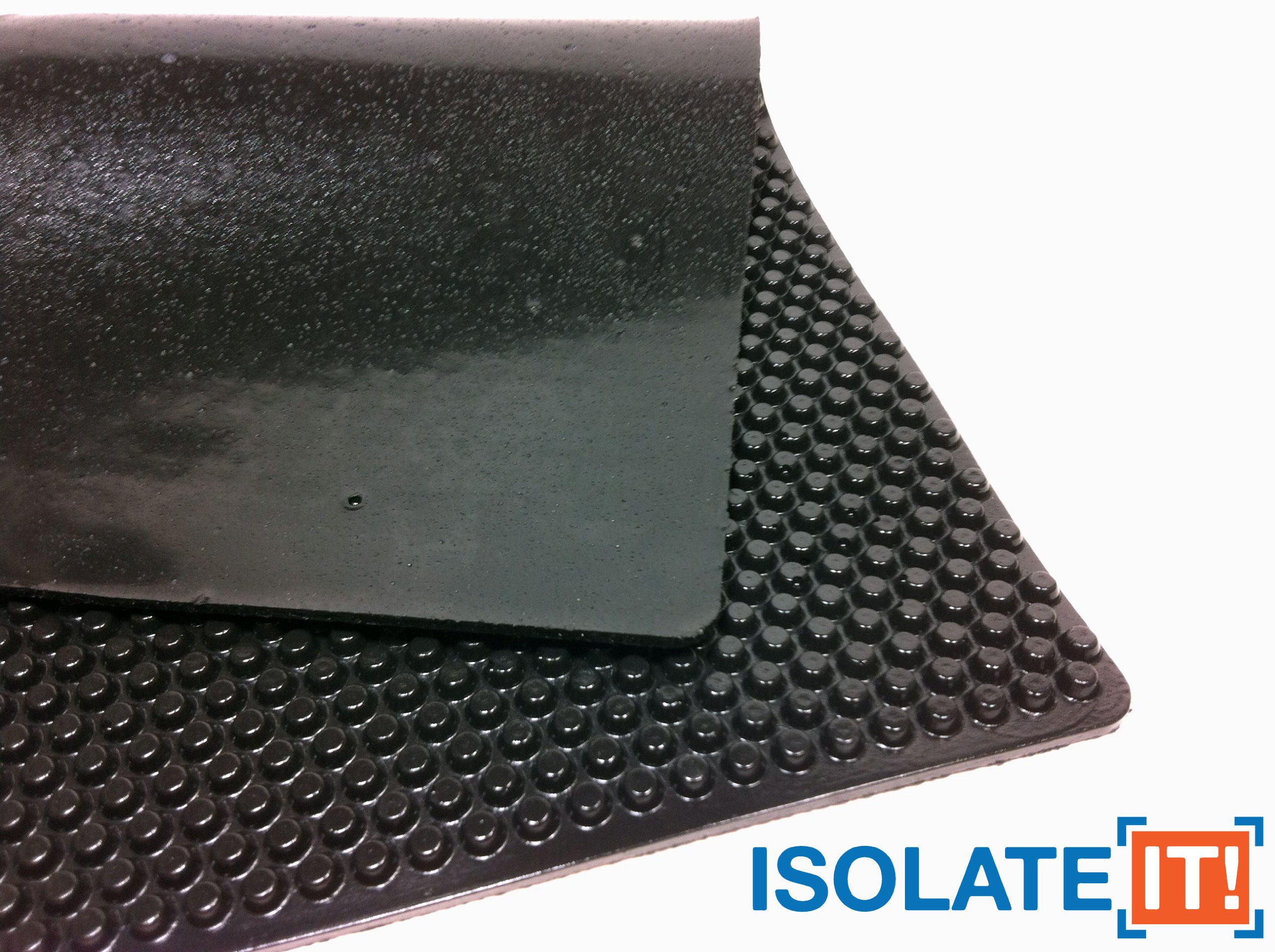 Isolate It!: Sorbothane X-Tra Flex Acoustic Vibration Damping Sheet Stock (3/16 x 12 x 14in) 50 Duro - 1 Sheet by Isolate It! (Image #3)