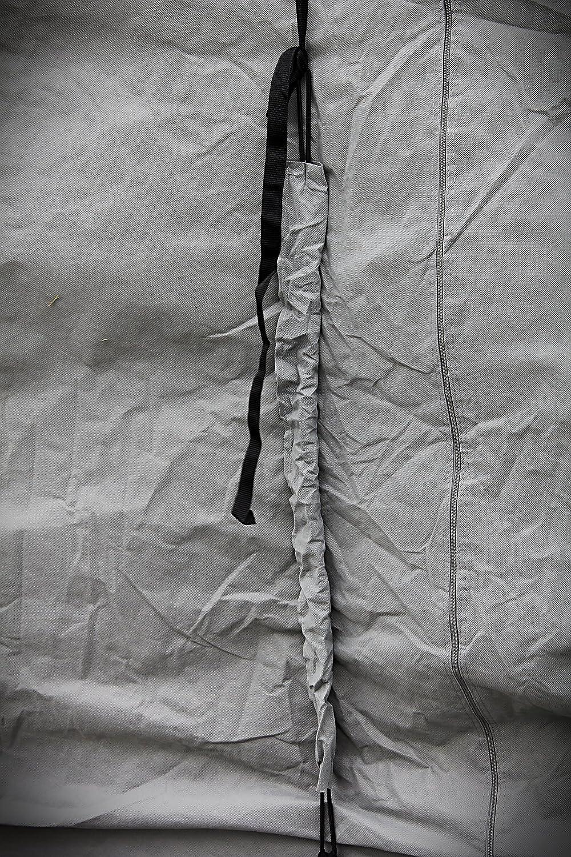 46H x 87W Camco 45765 16-18 ULTRAGuard Pop-Up Camper Cover Grey