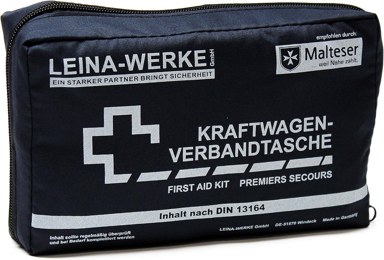 LEINA-WERKE 11001 KFZ-Verbandtaschen Compact blau