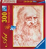 Ravensburger - Arte: Autoretrato de Leonardo, puzzle de 300 piezas (14030 5)