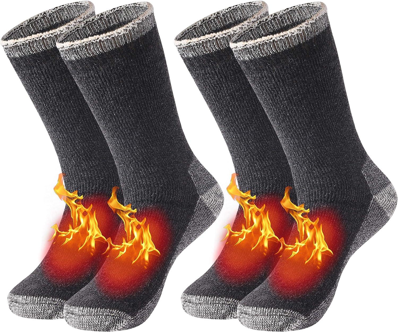 New Men/'s Socks Thermal Casual Soft Cotton Sports Socks Warm Athletic Crew