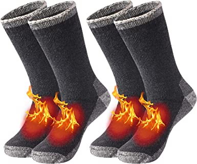 MENS THERMAL SOCKS WALKING COTTON THICK HIKE CHUNKY BOOTS WORK NEW-3PAIRS