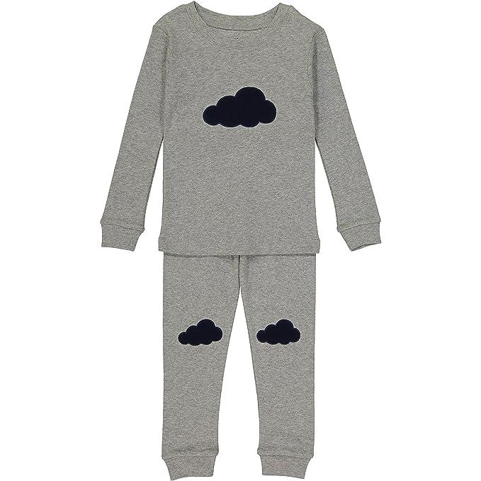 Amazon Allie & Oliver 100% Cotton Snug Fit Unisex Toddler, Baby, Kids Pjs Pajamas Set