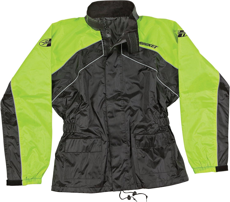 Joe Rocket 1010-1405 RS-2 Mens Motorcycle Rain Suit Black//Yellow, X-Large