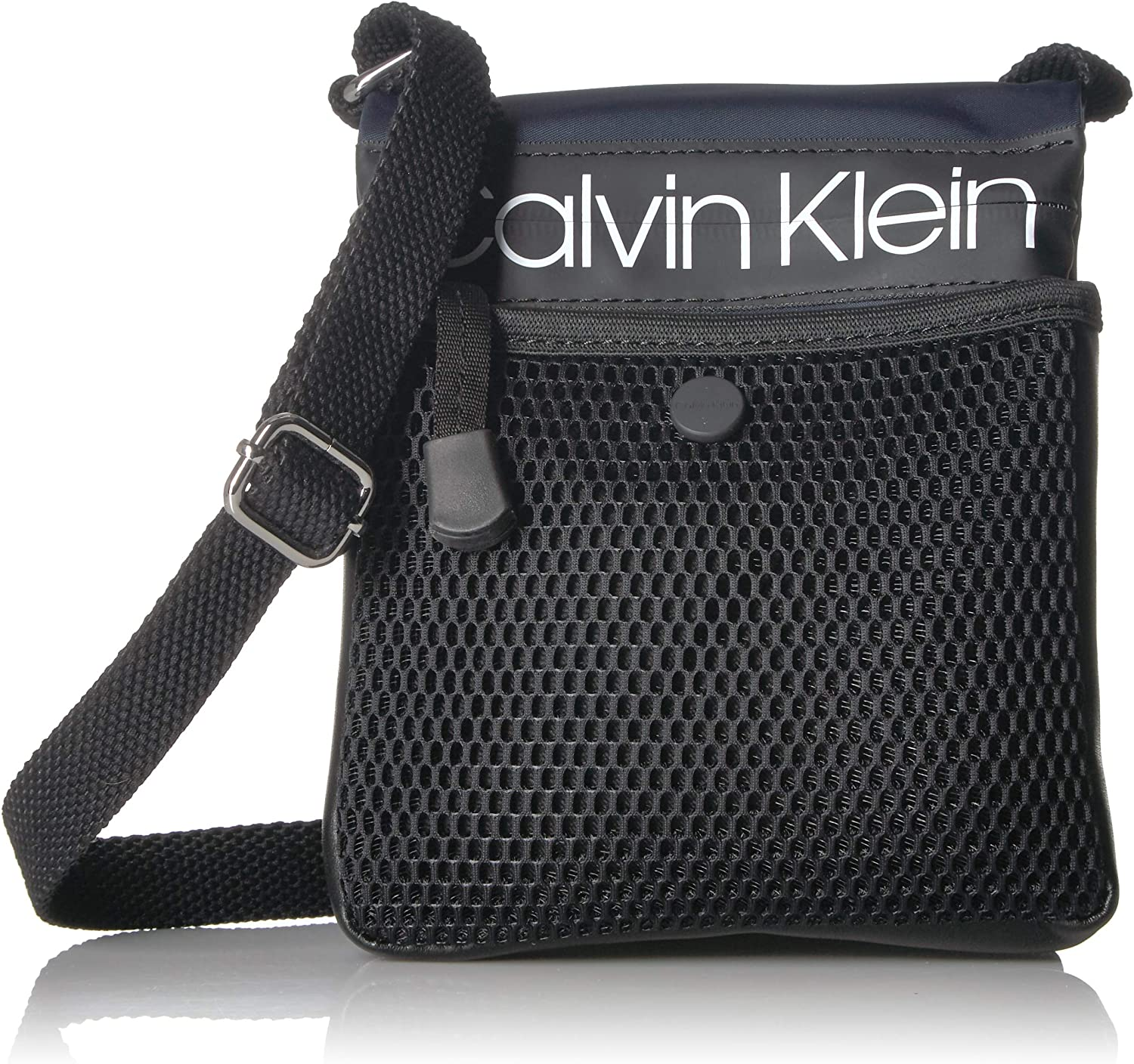 Calvin Klein Tabbie Nylon Multi-Pocket Organizational Crossbody