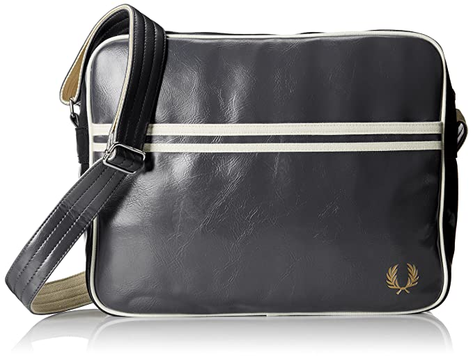 It Fred A Antracite Classic Unica Znwusa8qp Perry Borsa Amazon Tracolla w7aw6TAq