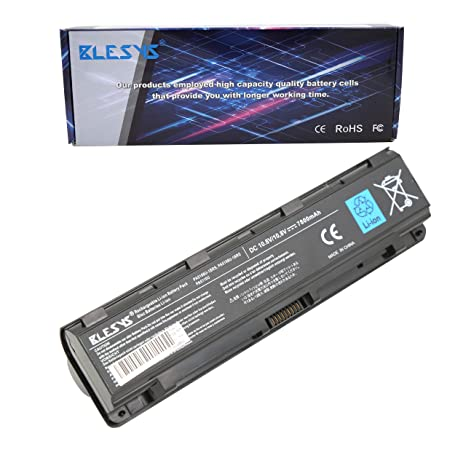 BLESYS 6600mAh PA5109U-1BRS PA5108U-1BRS PA5110U-1BRS Compatible con batería de portátil Toshiba Satellite C40 C45 C50 C50D C50T C55D C55DT C55T C70 ...