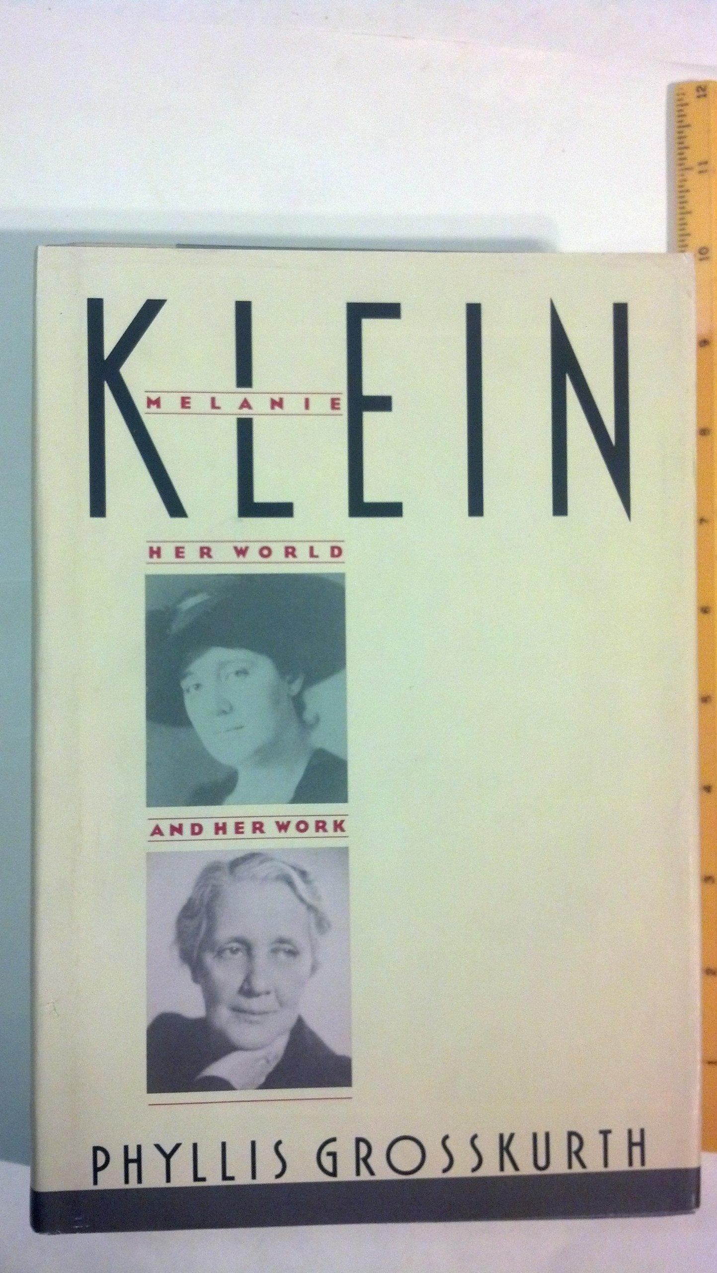 MELANIE KLEIN by Knopf