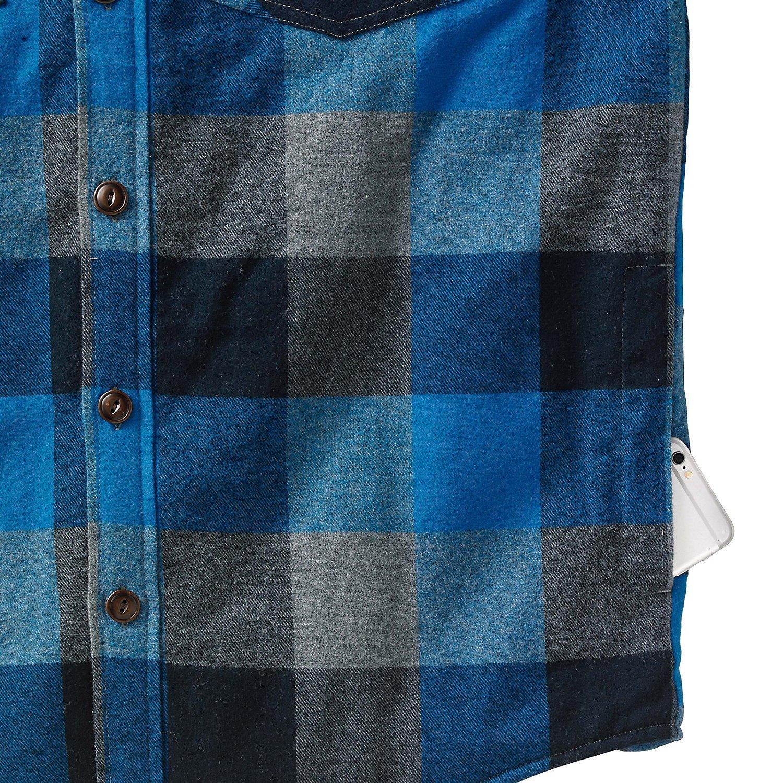 Legendary Whitetails Mens Woodsman Heavyweight Quilted Flannel Shirt Jacket