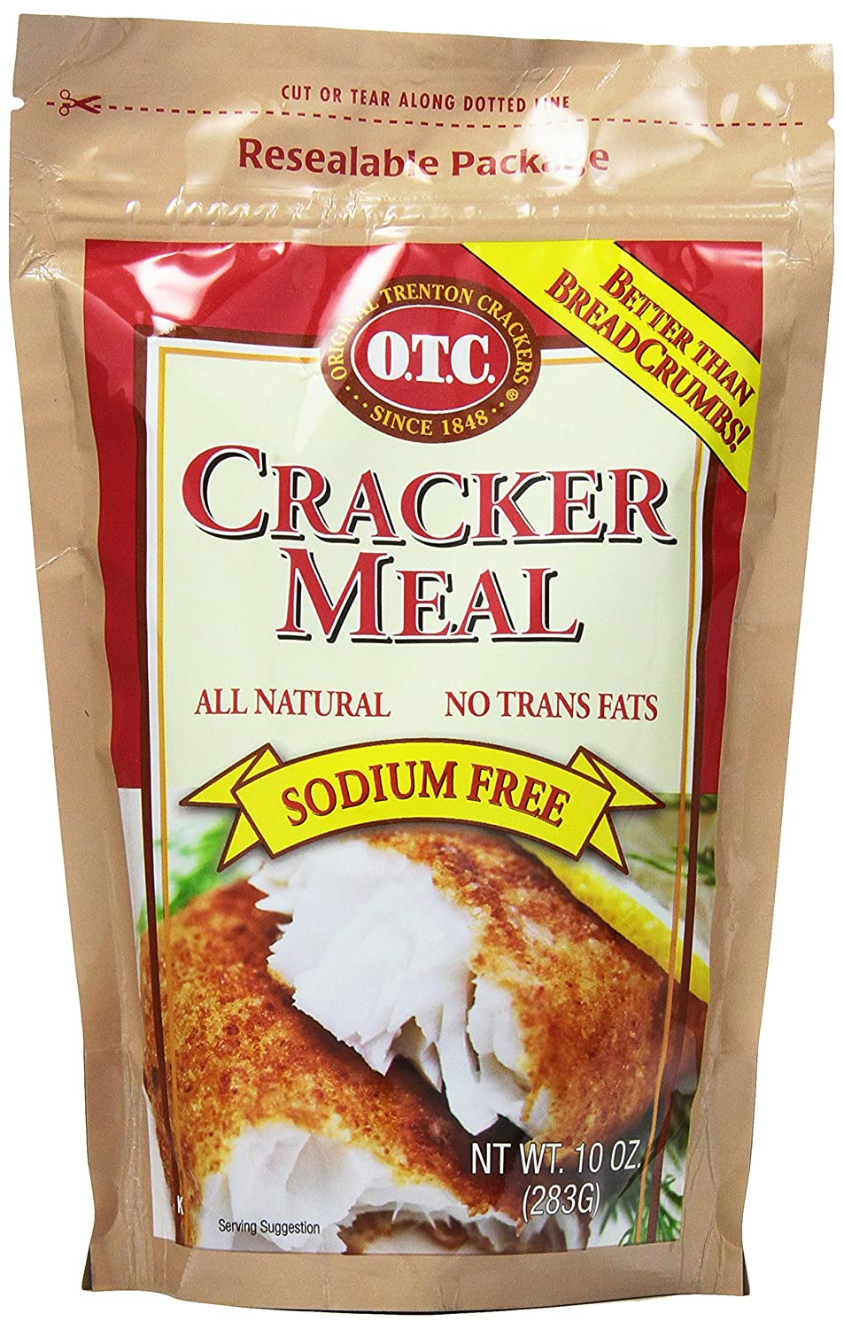 Amazon.com: O.T.C. Traditional Cracker Meal, 10-Ounce Canisters (Pack of 12)