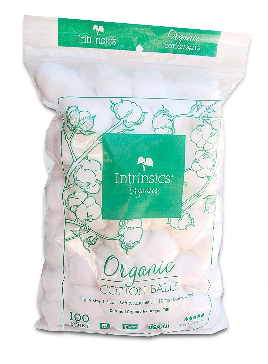 Intrinsics Beauti Balls 100% Cotton (100 per Bag) NA