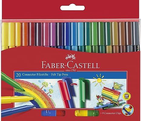 Feutre A Coloriage En Anglais.Faber Castell 155208 Stylo Feutre Connecteur Feutre De Coloriage 20er