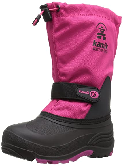 Kamik Waterbug Wide Cold Weather Boot (Toddler Little Kid Big Kid ... 33685d83ad
