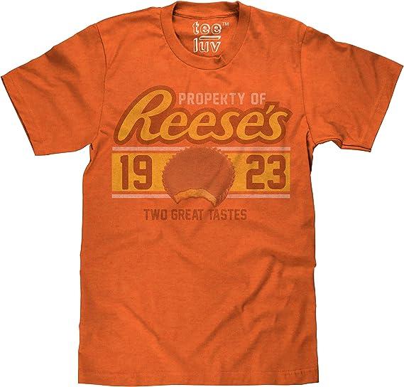Amazon.com: Tee Luv Reeses - Camiseta de manga corta ...