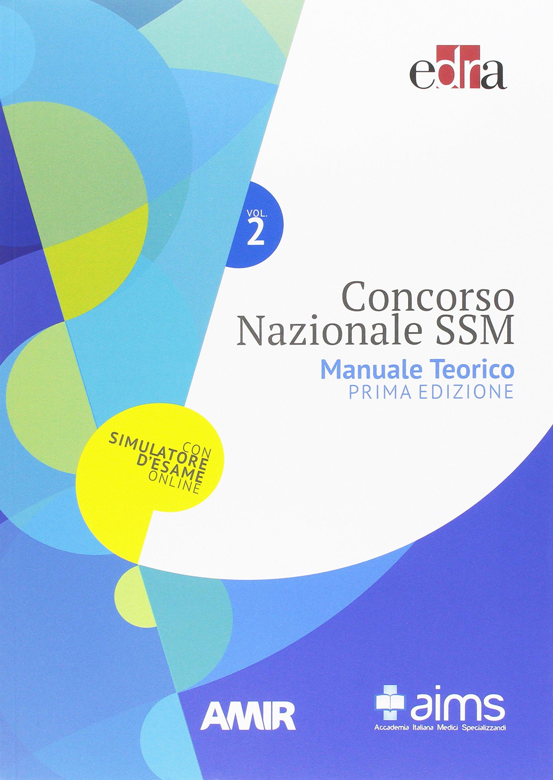 Concorso nazionale specializzazioni mediche 4 volumi: Amazon.it: AA.VV.:  Libri
