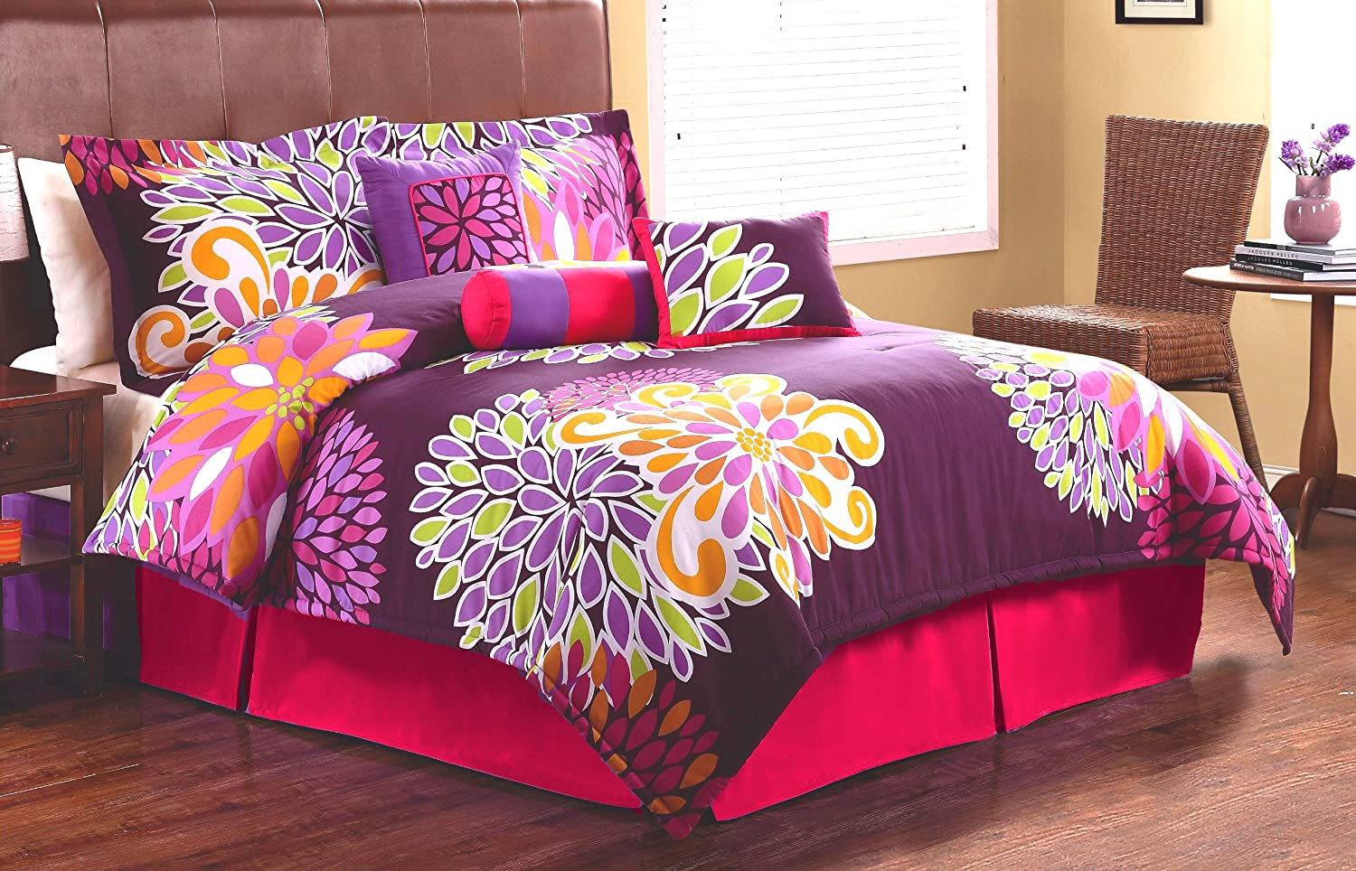 1st Apartment Flower Show Comforter Set, Twin