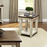 Liberty Furniture Industries Lancaster Chair Side Table, W18 x D24 x H24, Dark Brown