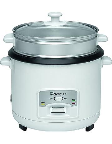 Clatronic RK 3566 Arrocera, capacidad 3 litros para 2,5 kg arroz hervido,