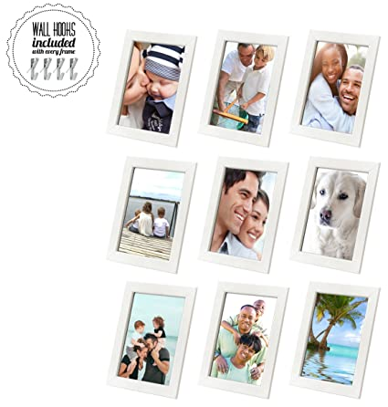 Amazon.com - 5 x7 Family Picture Frame Collage With Hardware [A+++ ...