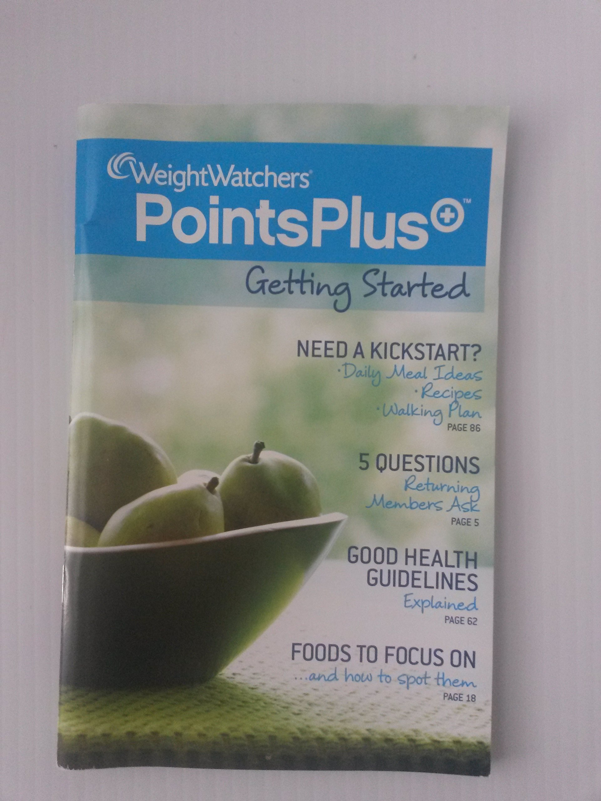 Weight watchers points plus getting started weight watchers weight watchers points plus getting started weight watchers amazon books nvjuhfo Images