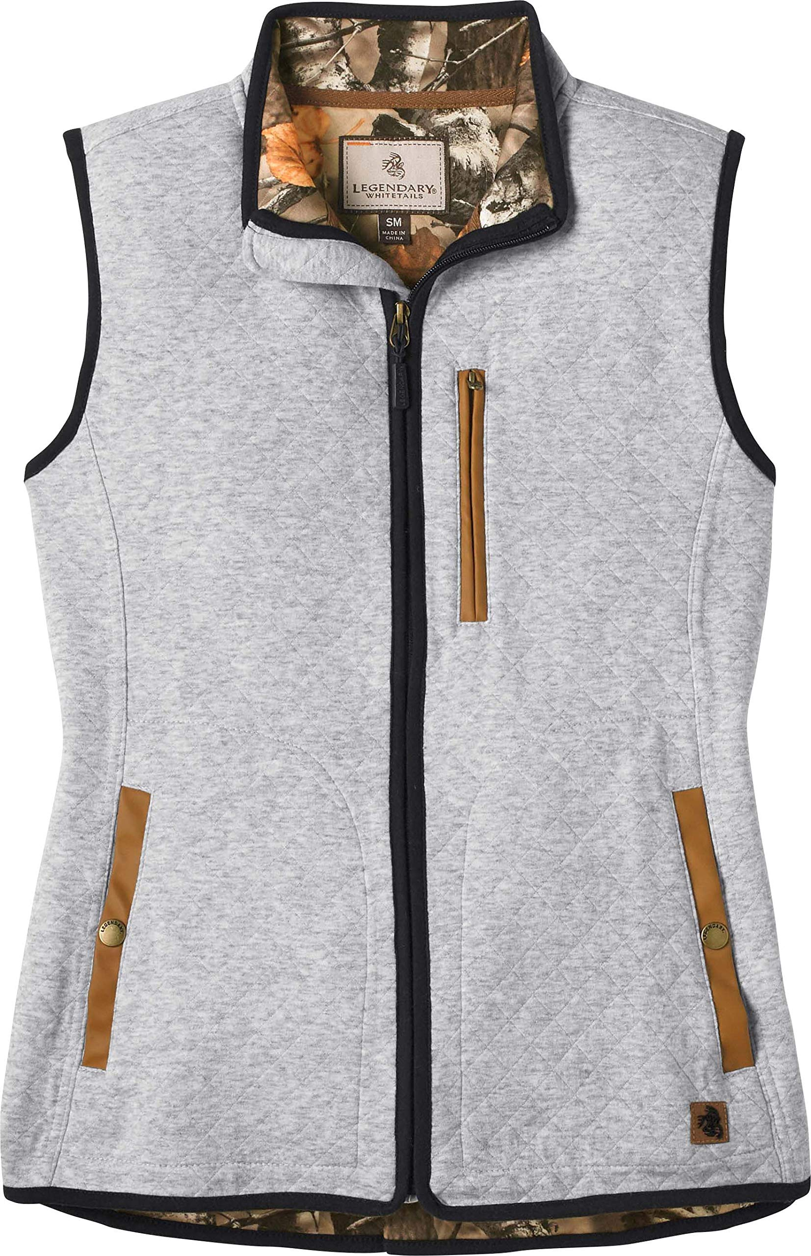 Legendary Whitetails Women's Flintlock Quilted Jersey Vest Large by Legendary Whitetails
