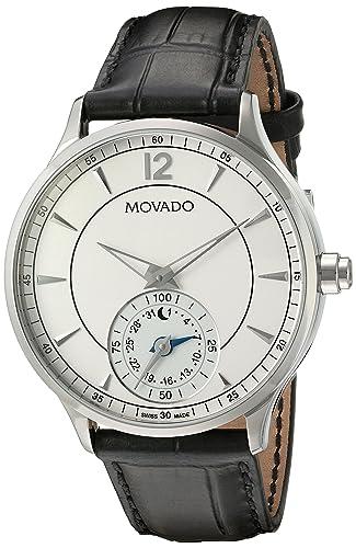 Movado Motionx Reloj de hombre cuarzo suizo 42mm caja de acero 660007: Amazon.es: Relojes