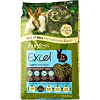 Excel Burgess Junior and Dwarf Nuggets with Mint Rabbit Food 10 kg