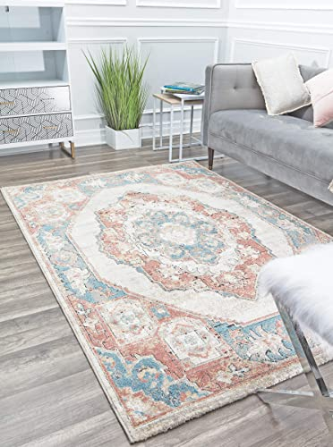 Rugs America Area Rug, 5 0 x7 6 , Mixed Harvest