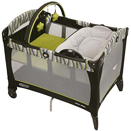 Graco Pack n Play Playard with Reversible Napper Changer – Omni