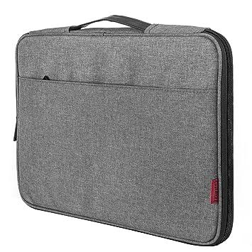 Coolbell 13-13,3 Pulgadas Funda para Ordenador Portátil Bolsa para MacBook Air/ASUS/DELL/Lenovo/MacBook Pro,Gris
