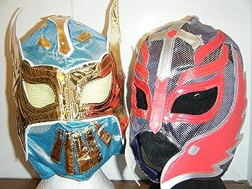 Sin Cara Azul máscara y Rey Mysterio Máscara Para Niños