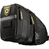 Raniaco Bike Seat Pack With Wedge-Shaped Design and Rear Light Loop,Cycling Saddle Bag