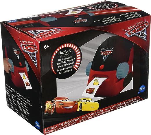 Cars Cars-41284 Fabrica Tus Pegatinas (Cife Spain 41284)