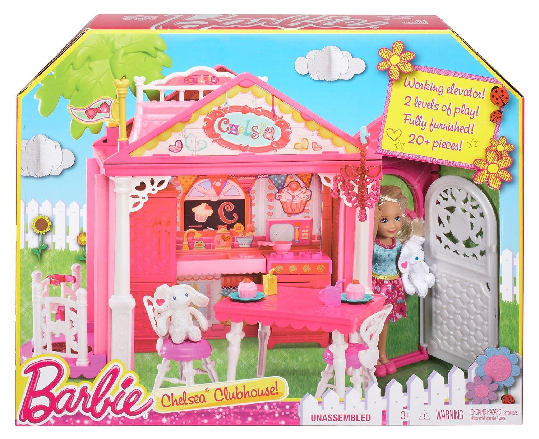 Puppe Mattel Barbie BDG50 Fab Family Chelsea Haus Spielset