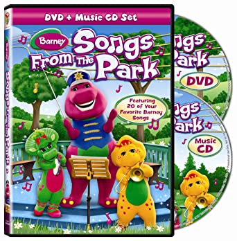 Amazon com: Barney: Songs From the Park (DVD + Music CD