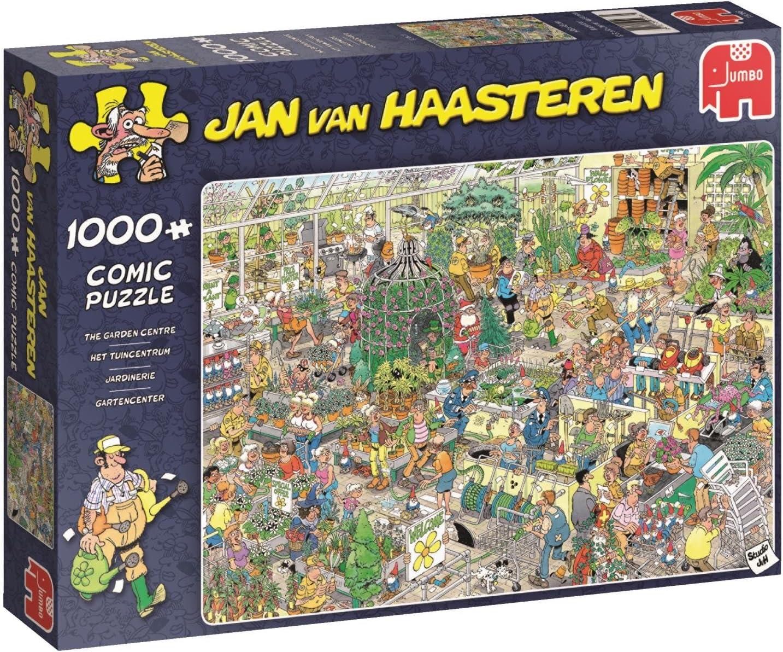 Jan van Haasteren 19066 Garden Centre 1000 Piece Jigsaw Puzzle