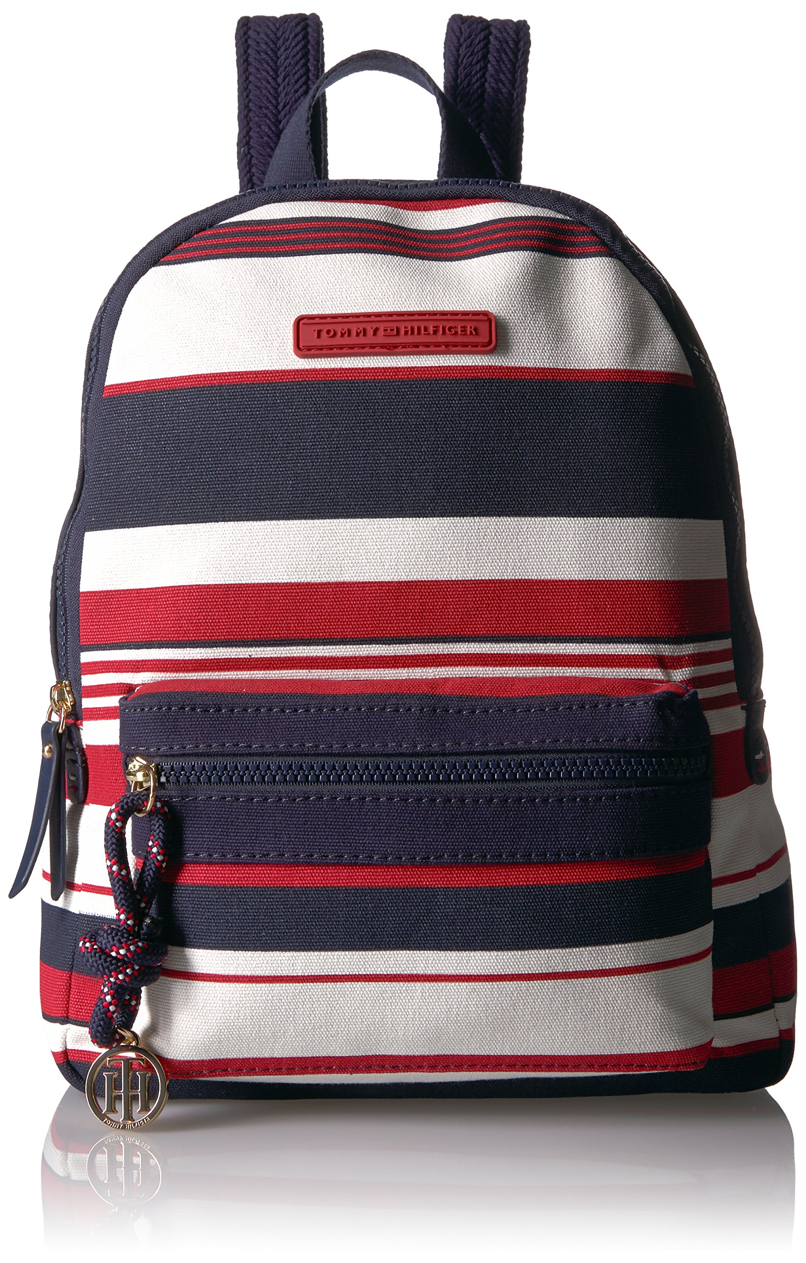 Tommy Hilfiger Women's Backpack Dariana, Navy/Red