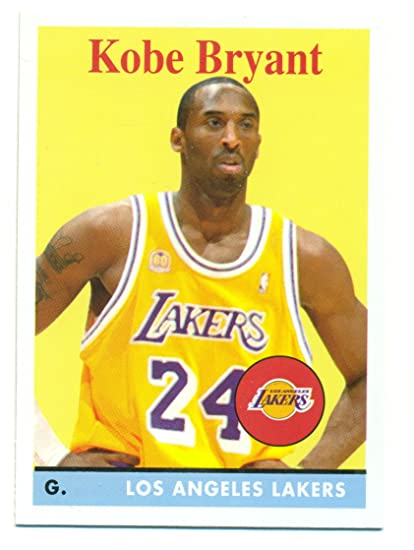 bde8ad09ca0 2008-09 Topps Kobe Bryant SP #24 - Los Angeles Lakers - Basketball Card