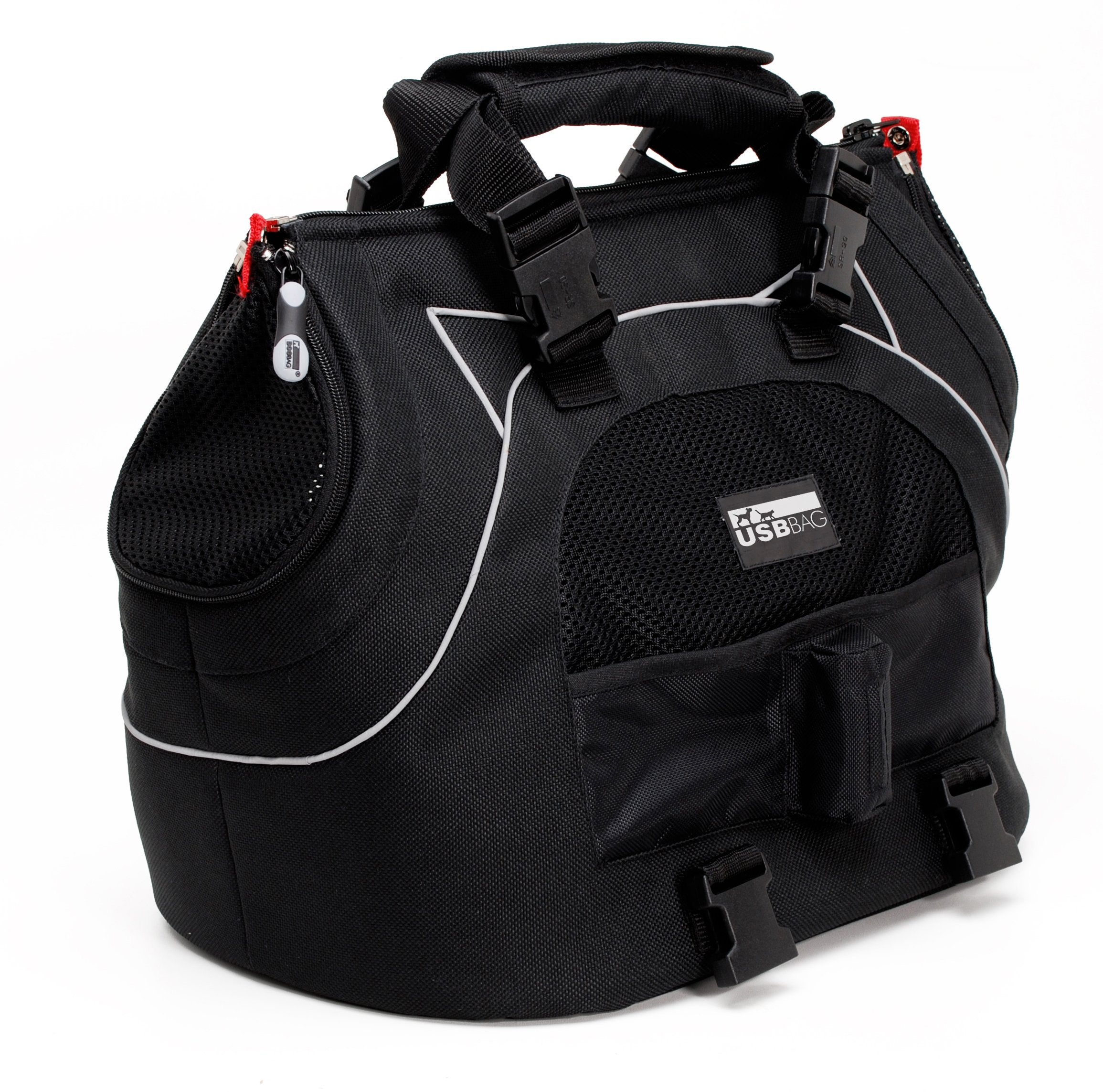 Petego Universal Sport Bag Plus Pet Carrier, Black Label by Petego