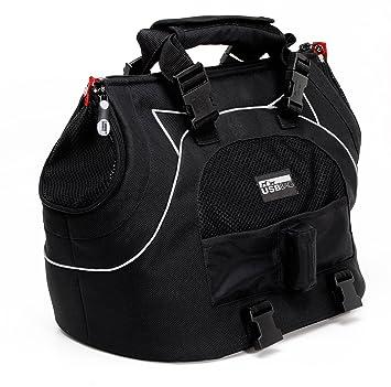 Petego DH41 Bolsa deportiva universal para animales, color negro: Amazon.es: Coche y moto
